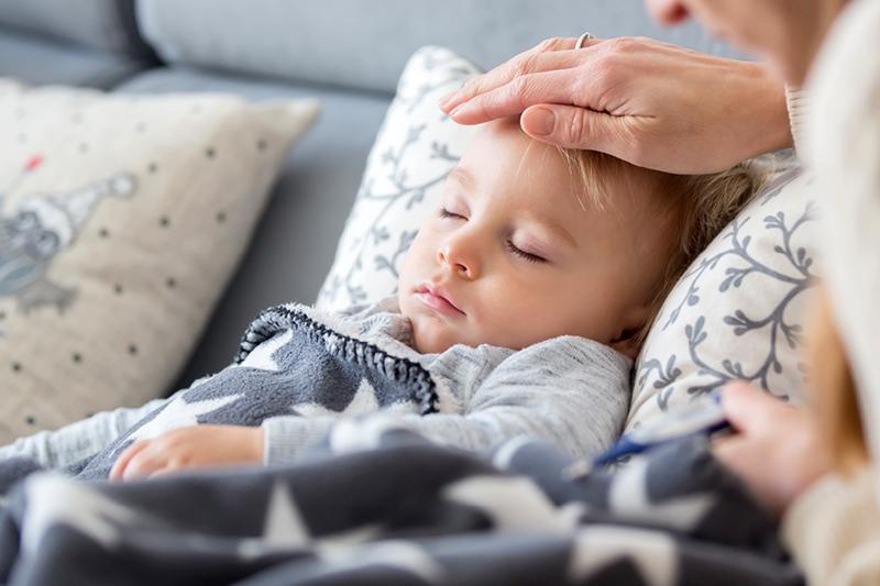 Kind Krank Tage Aufgebraucht